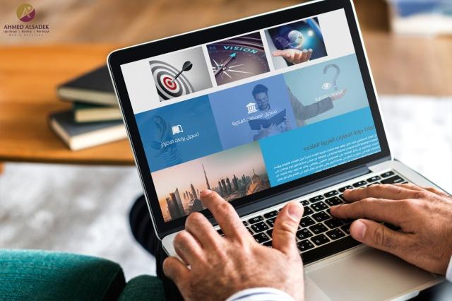 تصميم موقع الكتروني لشركة النورس للملكية الفكرية والاستشارات الادارية في الآمارات - دبي